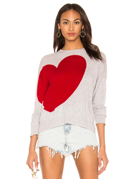Heart And Star Crewneck Sweater by Sundry