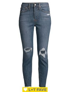 Wedgie High Rise Skinny Jeans by Levi's