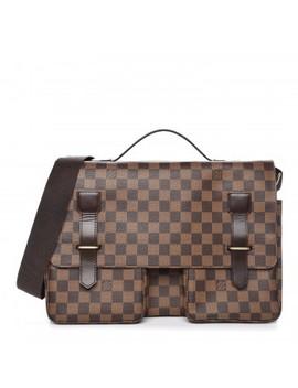 Louis Vuitton Damier Ebene Broadway Messenger Bag by Louis Vuitton