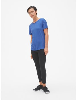 Gap Fit Breathe V Back T Shirt by Gap