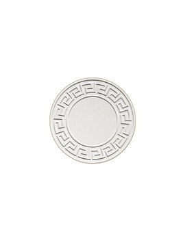 Embossed Greek Key Round Coaster by Mercer41