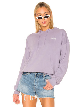 Violet French Terry Hoodie by Stussy