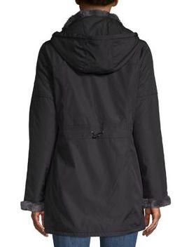 Faux Fur Trimmed Jacket by Weatherproof
