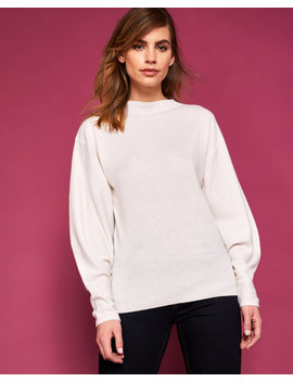 Bell Sleeve Cashmere Jumper by Ted Baker