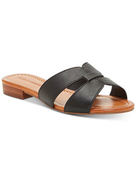 Genise2 Flat Sandals by Enzo Angiolini