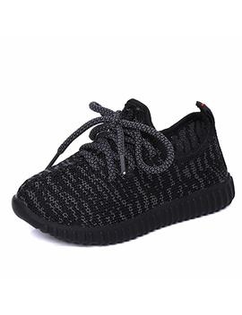 Nepretty Girls Breathable Running Shoes Boys Knit Lightweight Athletic Walking Sneakers by Nepretty