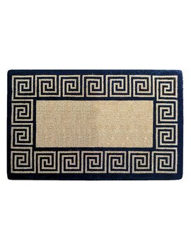 Daniell Greek Key Heavy Duty Coir Doormat by Winston Porter
