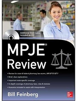Pharmacy Law Examination And Board Review by Amazon