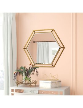Kelston Mills Accent Metal Wall Mirror by Willa Arlo Interiors