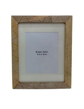 """11""""X14"""" Matted To 8""""X10"""" Dot Frame Wood   Opalhouse™ by Opalhouse"""