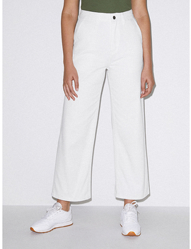 Crop Wide Leg Jean by American Apparel