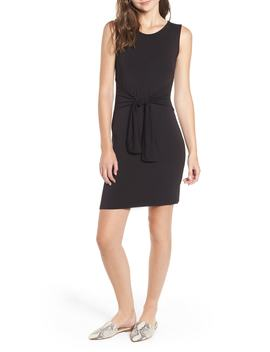 Tie Waist Body Con Dress by Amour Vert