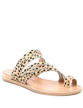 Nelly Leopard Print Wedge Sandals by Dolce Vita