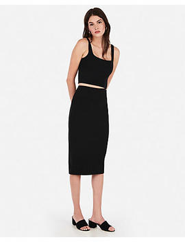 High Waisted Pencil Skirt by Express