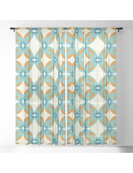 Hiderigami Sheer Curtain by Society6