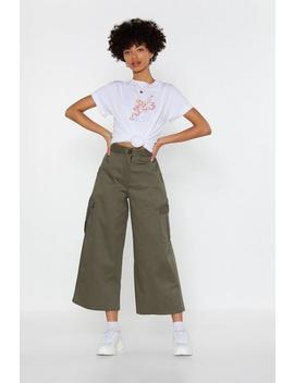 Cargo Culotte Trouser by Nasty Gal