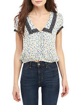 The Ana Printed Blouse by Free People