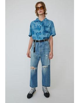 worn-jeans-indigo-blue by acne-studios