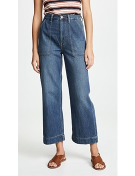 Utility Cropped Jeans by Wrangler