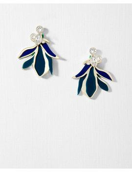 Paradiesblüten Ohrringe Mit Kristallen by Ted Baker