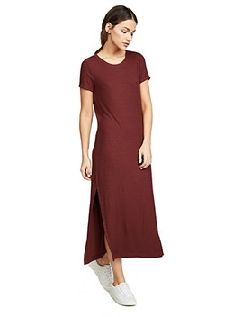 Ribbed Dress With Slits by Three Dots
