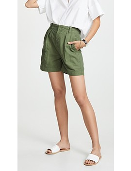 Cassidy Pleated Shorts by Citizens Of Humanity