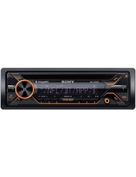 In Dash Cd/Dm Receiver   Built In Bluetooth   Satellite Radio Ready With Detachable Faceplate   Black by Sony