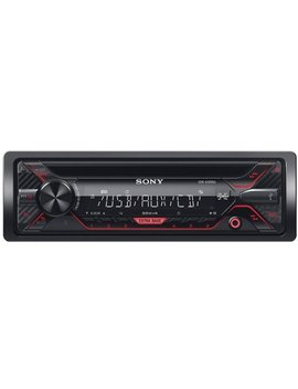 In Dash Cd/Dm Receiver With Detachable Faceplate   Black by Sony