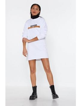 Daddy Issues Sweat Dress by Nasty Gal