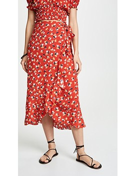 Celeste Wrap Skirt by Faithfull The Brand
