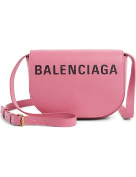 Extra Small Ville Calfskin Saddle Bag by Balenciaga