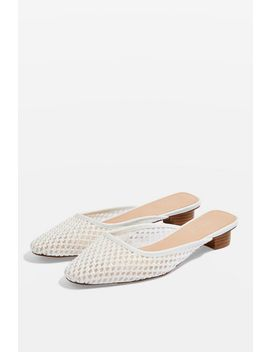 Amber Square Toe Mules by Topshop