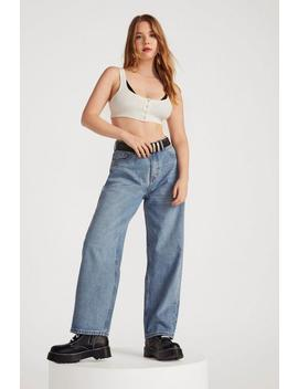 Dru Oversized Wide Leg Jeans by Nasty Gal
