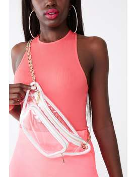 Transparent Crossbody Bag by Forever 21