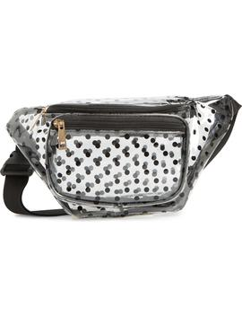 Polka Dot Transparent Belt Bag by Jane & Berry