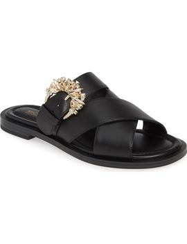 Frieda Embellished Slide Sandal by Michael Michael Kors