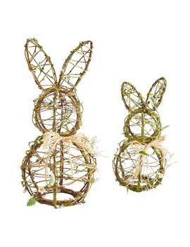 Twig Bunny Decor by Pier1 Imports