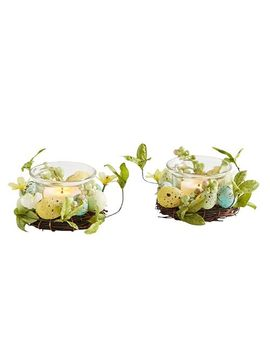 Egg Tealight Candle Holder Set by Pier1 Imports