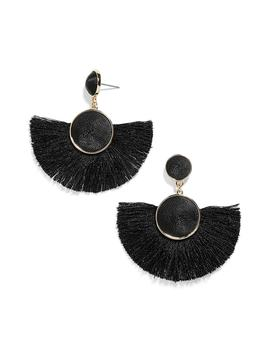 Marinella Fringe Drop Earrings by Baublebar
