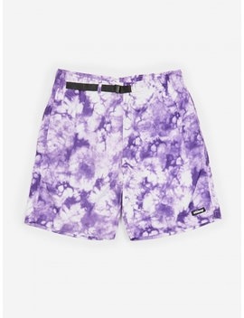 Bleach Nylon Mountain Short   Purple by Stussy