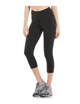 Motivation High Rise Pocket Crop Leggings by The North Face