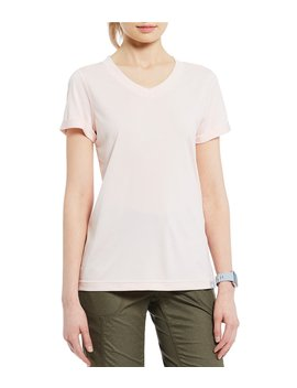 Hyperlayer Flash Dry Short Sleeve V Neck Top by The North Face