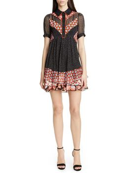 Lou Silk Dress by Dvf