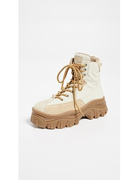 Hi Top Traktor Boots by Msgm