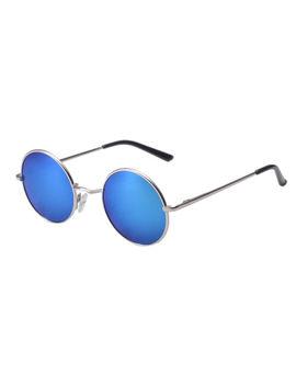 Vintage Polarized John Lennon Sunglasses Hippie Retro Round Mirrored Glasses K10 by Ebay Seller