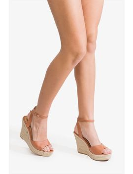 Sugar & Spice Espadrille Wedge by A'gaci