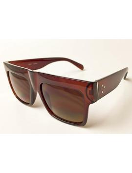 Oversized Mens Large Zz Square Flat Top Fashion Hipster Big Lux Sunglasses 7146 by Ebay Seller
