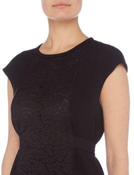 Split Detail Cap Sleeve Dress by Max Mara Studio
