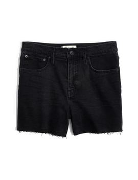 High Waist Raw Hem Denim Shorts by Madewell