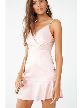 Satin Mini Dress by Forever 21